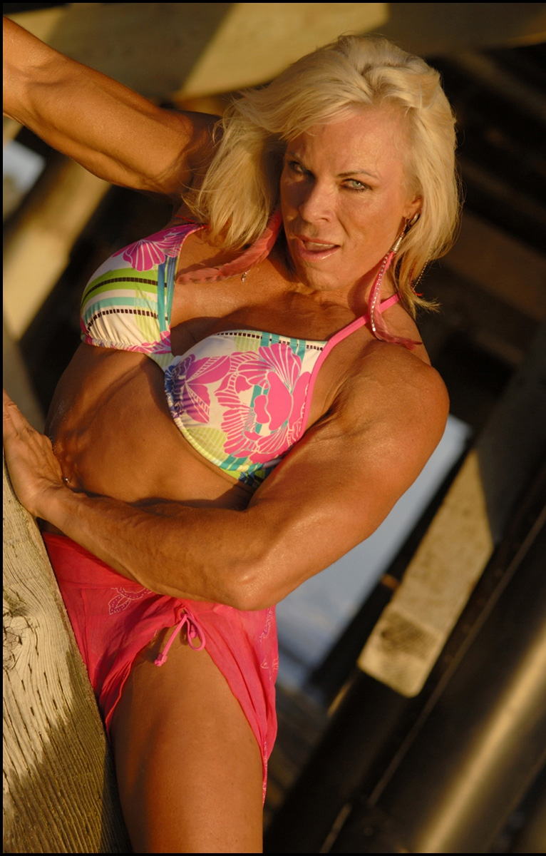 Buff + Beauty = Barbi Rox